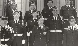 Vinnie Calarco - top row second from left - Westfield American Legion Drill Team.