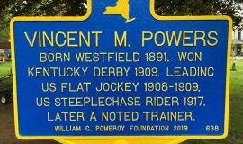 Vincent Powers marker.