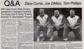 Q&A Dave Currie, Joe DiMaio, Tom Phillips. September 2, 1999.