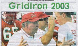 Gridiron 2003. September 4, 2003.