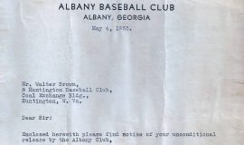 1935 Albany GA release