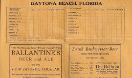 1936 Daytona scorecard