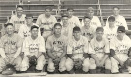Jamestown Boosters Baseball Team (NYS Semi-pro champions). 1944.