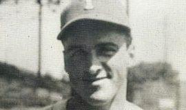 Walt Brown with 1944 Toledo Mud Hens
