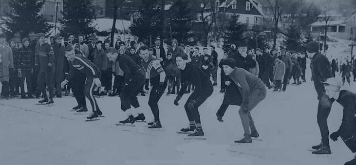 Ice Skating Race at Roseland Park