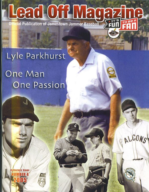 2005 Lead Off Magazine cover featuring Lyle Parkhurst
