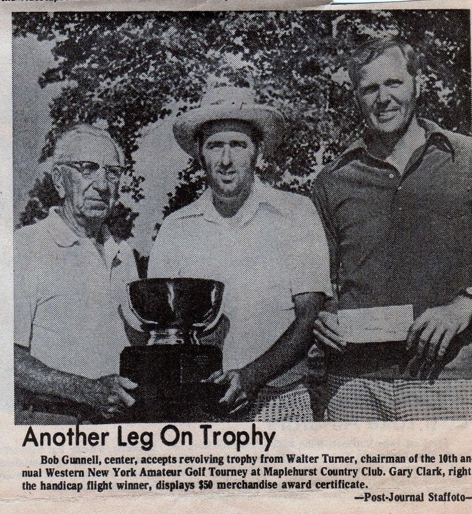 1973 WNY Amateur Golf Tourney winners