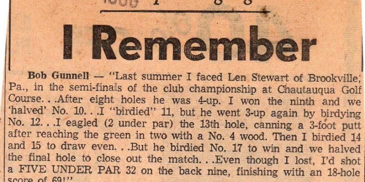 The Sport Highlight I Remember