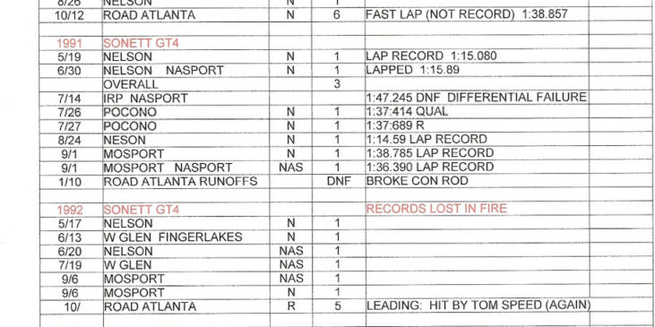 Jack Lawrence career results page 7