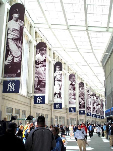 Yankee Stadium concourse