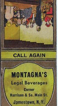 Montagna's matchbook