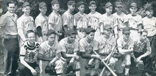 Ken Martin, 1951 JHS baseball