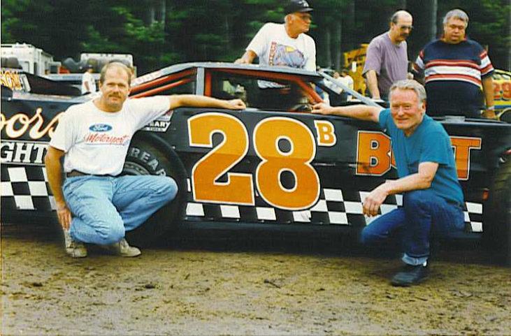 Dick Barton and Bobby Schnars, 1996