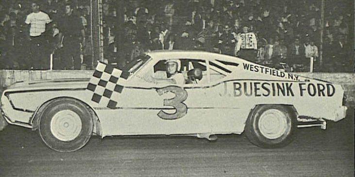 Jim Scott, Stateline/Eriez Speedway, 1968.