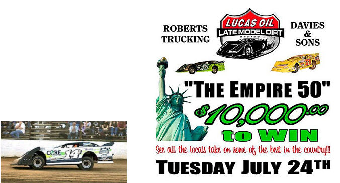 Lucas Oil Late Model Dirt poster