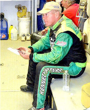 In his 42-year career, Dick Barton, above, has won 48 track and series championships, and a record 80 late-model races and 10 track championships at Stateline Speedway.