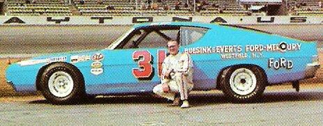 Jim Scott, ARCA race at Daytona International Speedway, 1970.