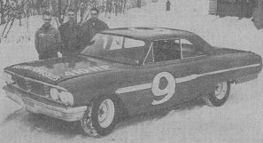 Buesink's 1965 ARCA Ford prior to it's trip to Daytona. Fred Knapp was scheduled to drive, but was replaced by Jack Shanklin.