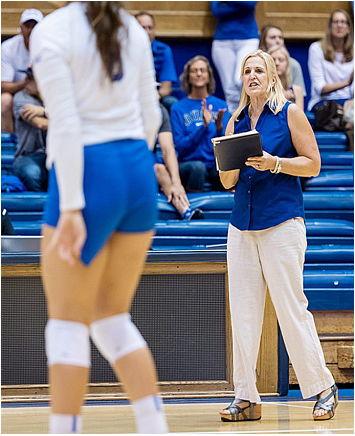 Jolene Nagel coaching.