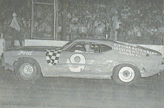 Freddy Knapp, Stateline/Eriez Speedways, 1973.