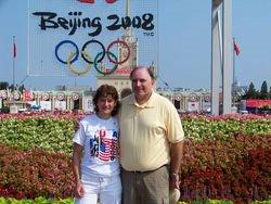 Mark and Sue Stuczynski in Beijing, China.
