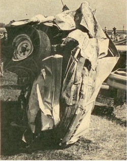 #9 after Jack Shanklin flipped it at Daytona in 1967.