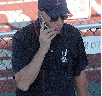 Tom Priester has officiated track and field meets throughout the country.