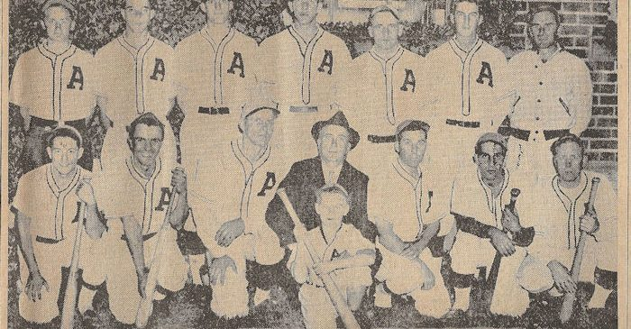 1938 Ashville baseball team