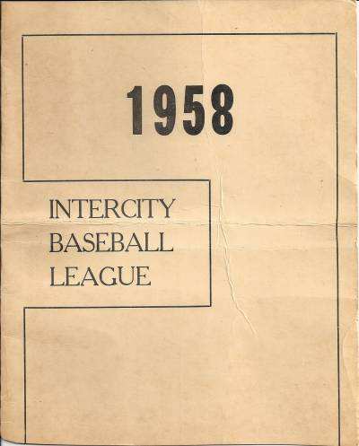 1958 Intercity Baseball League
