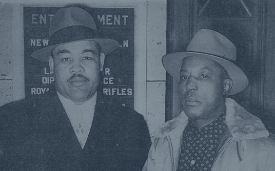 Joe Louis and Jimmy Clark
