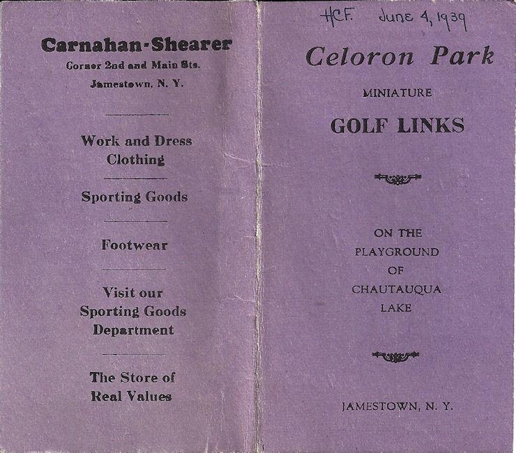 Celoron Park memorabilia
