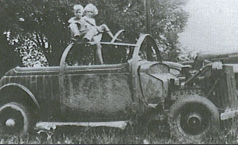 Bill Rexford's race car.