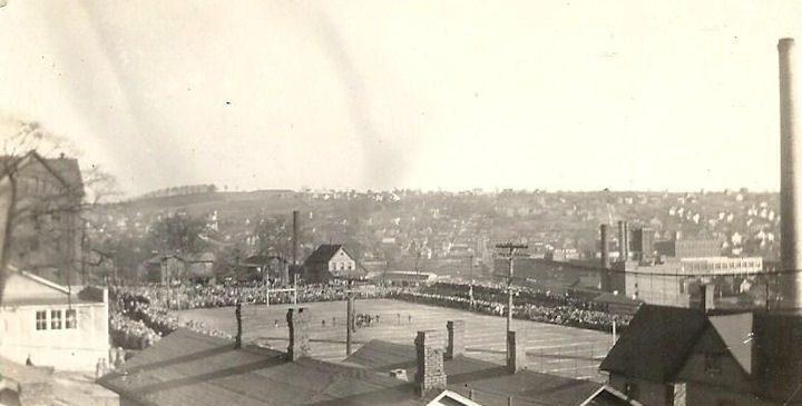 JHS football field, 1927