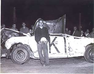 Eddie Kisko after his big wreck