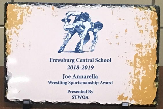 Joe Annarella Wrestling Sportsmanship Award