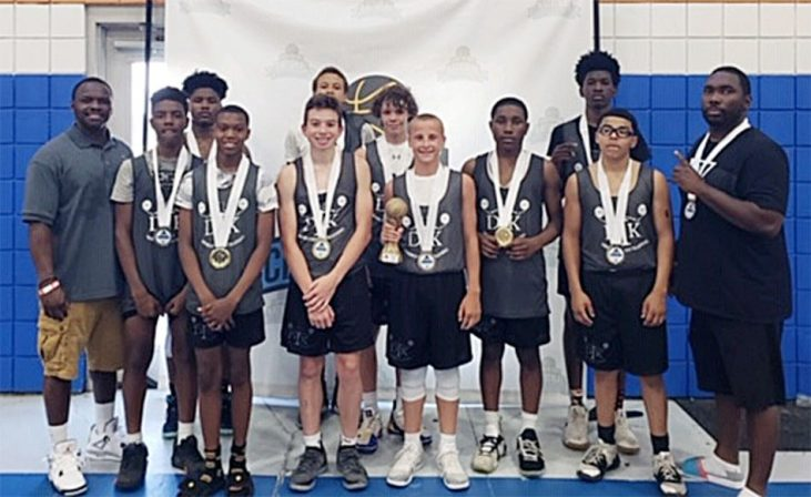 Dribble Kings AAU team.