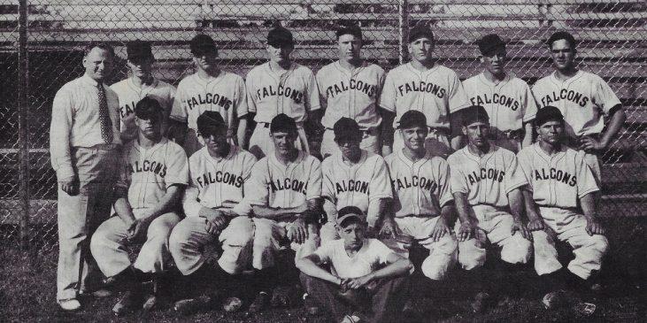 1940 Falcons at Allen Park