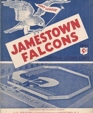 Jamestown Falcons 1941 program
