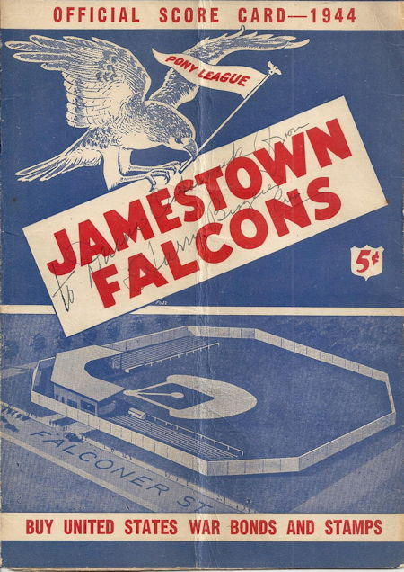 Jamestown Falcons, 1944