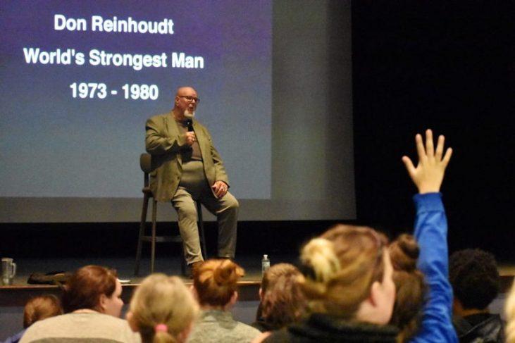 Don Reinhoudt, former world's strongest man.