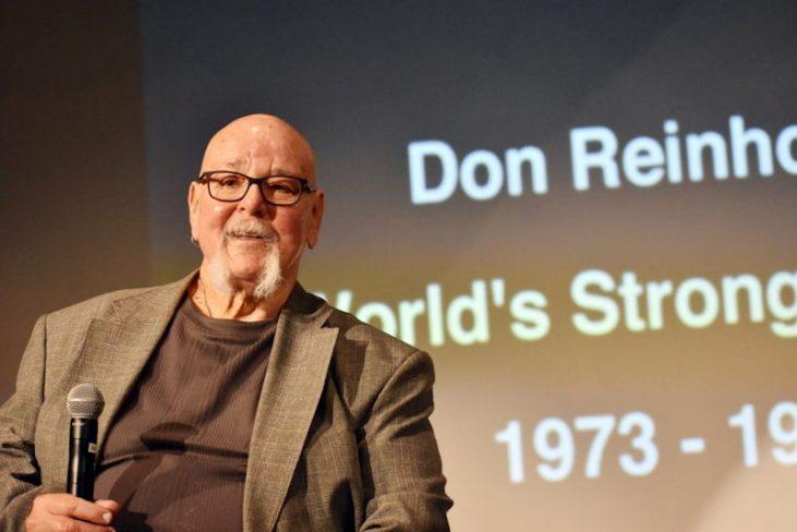 Don Reinhoudt serves as a motivational speaker.