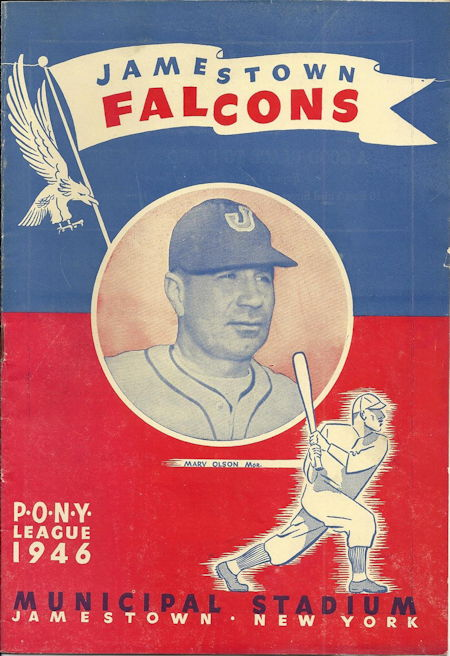 Jamestown Falcons, 1945