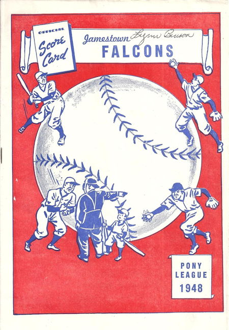 Jamestown Falcons, 1948