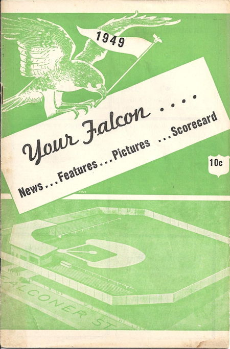 Jamestown Falcons, 1949