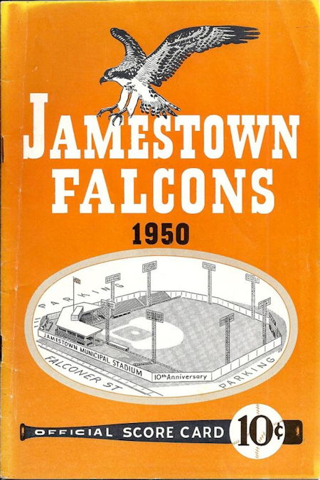 Jamestown Falcons, 1950