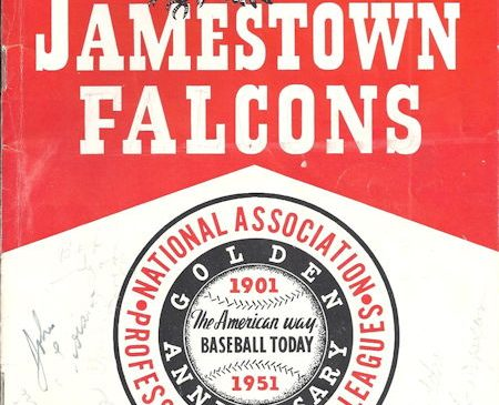 Jamestown Falcons, 1951