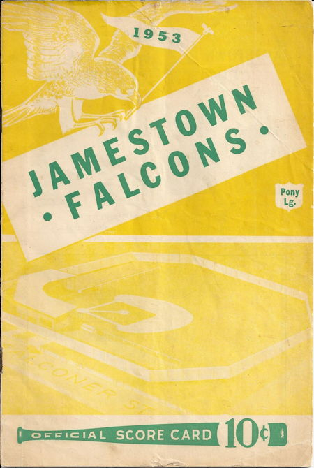 Jamestown Falcons, 1953