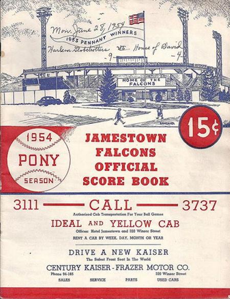 Jamestown Falcons, 1954