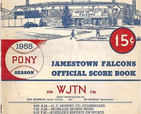 Jamestown Falcons, 1955