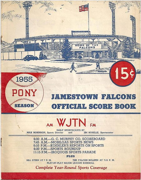 Jamestown Falcons, 1955